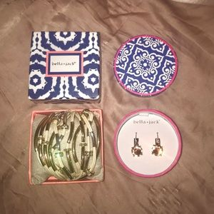 Bella • Jack Earrings and Bracelet Bundle